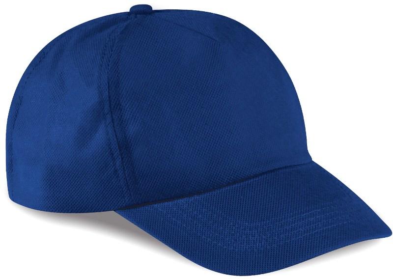 Cappelli personalizzati. K18025 CAPPELLINO 5 PANNELLI IN TNT 43ad1cac0ad0